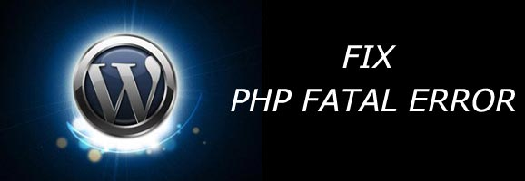 Fix PHP Fatal Error
