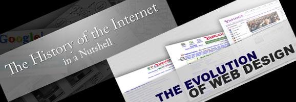 Internet History and Web Design Evolution